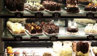 Chocolates and Coffee at Adelaide Cafe in Australia
